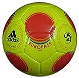 ADIDAS EUROPASS FUTSAL SALA BALL NAHTLOS FUTS SIZE FIFA APPROVED