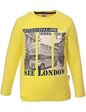 Kids Colour Jungen Shirt, gelb