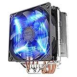 Tutoy Pccooler Donghai X5 4 Pin Blue Led Kupfer Cpu Kühler Lüfter Für Intel Lga 115X/Lg775 Amd 754