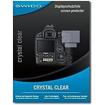 "2 x SWIDO® protecteur d'écran Canon EOS-1D X Mark II film protecteur feuille ""CrystalClear"" invisible"