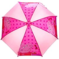 Peppa Pig Gorgeous Polka Dot Pink Design Umbrella/Brolley