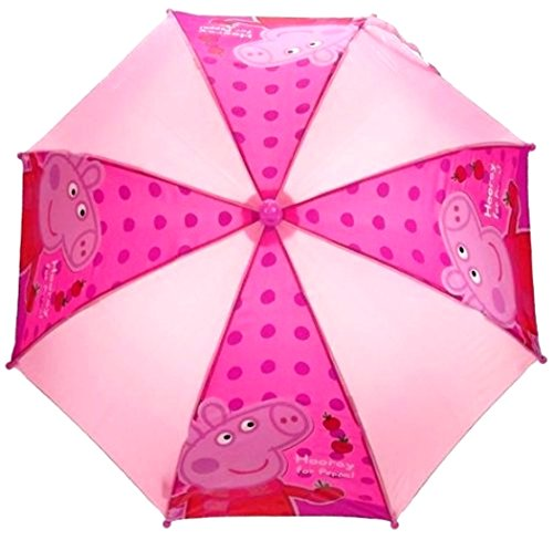 Peppa Pig Polka Dot-Superbe Design rose/Brolley Parapluie Peppa Pig Trainer