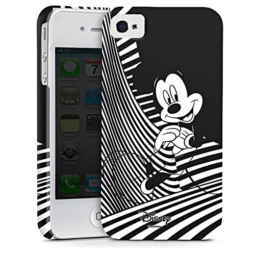 Apple iPhone 8 Tasche Hülle Flip Case Disney Mickey Mouse Geschenke Merchandise Premium Case glänzend