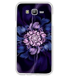 Purple Flower 2D Hard Polycarbonate Designer Back Case Cover for Samsung Galaxy J5 (2015 Old Model) :: Samsung Galaxy J5 Duos :: Samsung Galaxy J5 J500F :: Samsung Galaxy J5 J500FN J500G J500Y J500M