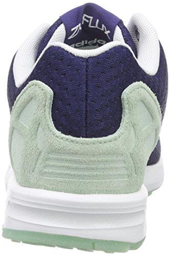 Adidas - Zx Flux W, Sneakers da donna Blu (ngtsky/ftwwht/frogrn)