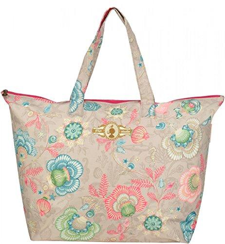 Pip Studio Shellebration Damen Strandtasche Shopper Einkaufstasche Tasche Schultertasche