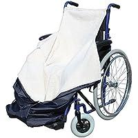 Saco impermeable para silla de ruedas con interior de forro polar (41 x 9 x 38,5)
