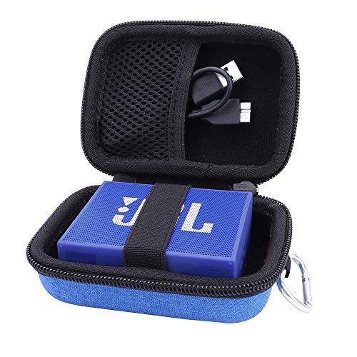pour JBL Go/JBL GO2 Bluetooth Enceintes Étui Housse de Aenllosi