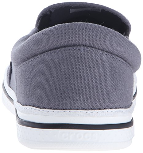 Crocs Crocs Norlin Slip-on, Mocassins homme Noir (Charcoal/White)