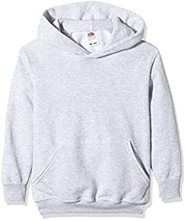 Fruit of the Loom - 62-043-0 - Sweat-Shirt - Mixte Enfant - Grey (Heather Grey) - Taille: 12-13 Ans (B004T49EZU) | Amazon Products