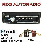AUTORADIO GXR550 mit USB SD MP3 Bluetooth UKW für Renault Megane Scenic 95>03