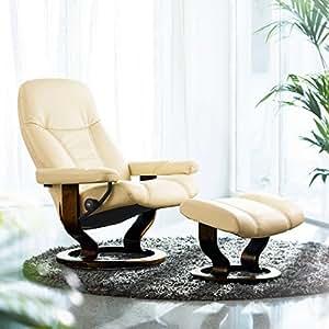 Diplomat stressless fauteuil relax avec tabouret repose - Fauteuil relax amazon ...