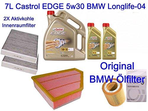 Filtro pacchetto Inspektionskit BMW E60E61523i 525i 530i xDrive N52N53 - E60 Filtro Olio Kit