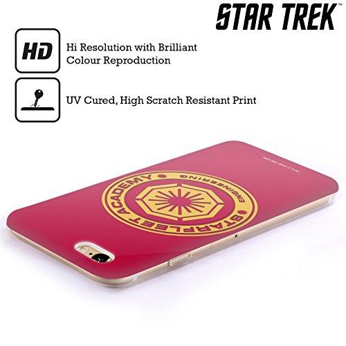 Offizielle Star Trek Medizinisch Sternenflottenakademie Logo Soft Gel Hülle für Apple iPhone 6 / 6s Engineering