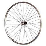 Taylor-Wheels 28 Zoll Hinterrad ZAC19 mit Shimano Tourney FH-TX500 Nabe - silber