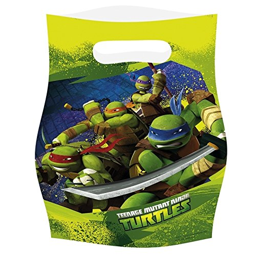 t Ninja Turtles 6-party Geschenktüten (Ninja-turtle Halloween)