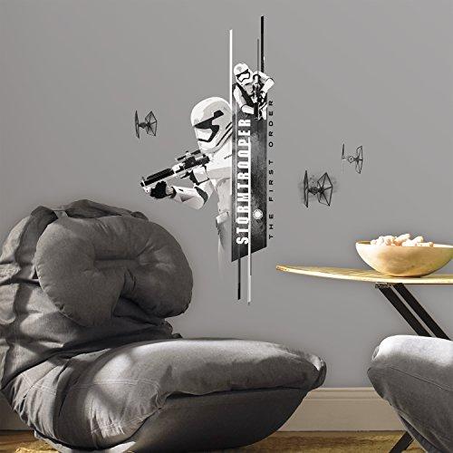 RoomMates RMK3081SCS - Pegatinas de pared, diseño Star Wars Episodio 7 Tropas de Asalto