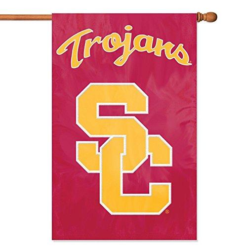 Party Animal Offiziell lizenzierte NCAA College Banner Flaggen, Herren,Unisex-Erwachsene, Damen, USC Trojans, 44
