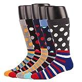 Gran promoción- EU 42/48 Calcetines cortos para hombre talla Vestir/Casual O Trabajar 100% Algodón En Caja (Hombre EU Size 44.5-49/ UK 10-13.5, MSK68-5 pares de calcetines)