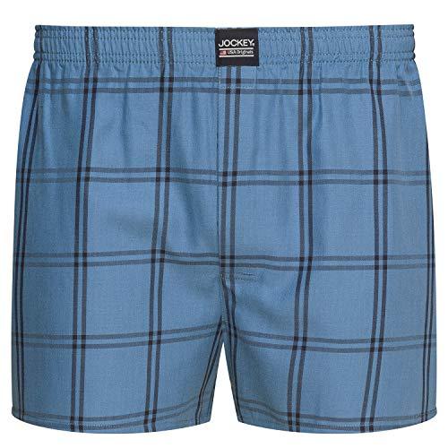 Jockey Shirts & Shorts Woven Boxer, M, Denim -