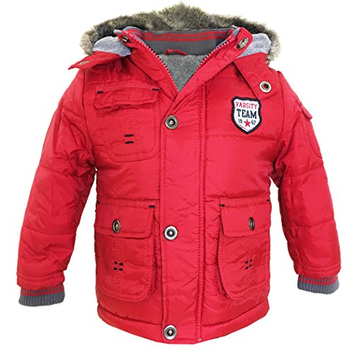 Famous-Ex-Chainstore-Baby-Boys-Winter-Hooded-Jacket-Toddler-Coat-Kids-Varsity-Team-Fleece-Jacket-Age-9-12-Months-12-18-Months-18-23-Months-2-3-Years