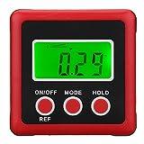 KUNSE Digitaler protraktor Winkel Finder Digital protraktor Inclinometer Spirit Level Lineal