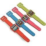 #6: Infinxt Smart Watch Shaped Eraser For Kids Set of 2 Random Color