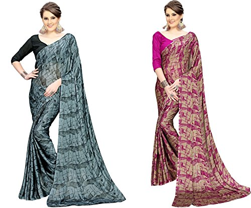 Navya fashion Sarees With Blouse Piece (dnav253_Multi-Coloured_Free Size)