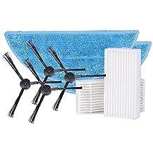 ILIFE Consumibles Accesorios Piezas Pack Lados Cepillo mop Filtro V3S, V5, V5s V5S Pro