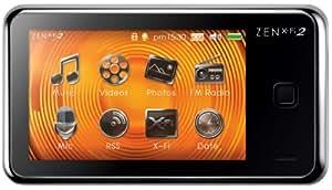 """Creative Zen X-Fi 2 Lecteur mp3 / mp4 wma / Radio FM / Ecran 3"""" 16 Go"""