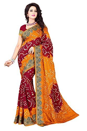 Shree Art Silk Saree (Ssb-S3009-01_Multicolor)