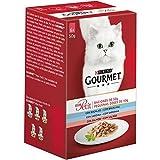 Purina Gourmet Mon Petit comida para gatos Selección de Pescados 6 x 50 g