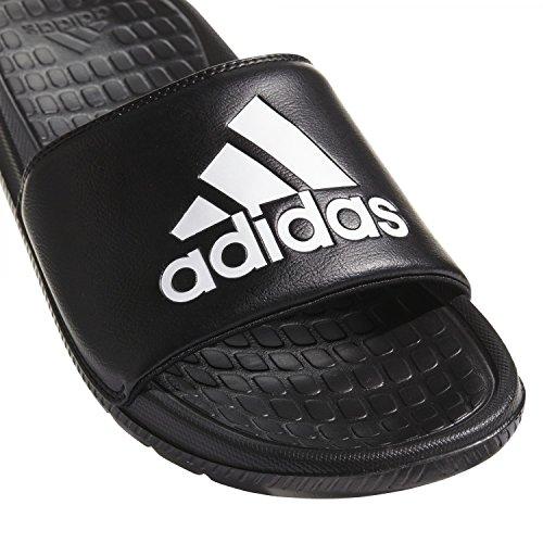 adidas Herren Voloomix Badeschuhe Schwarz (Cblack/Ftwwht/Cblack Cblack/Ftwwht/Cblack)