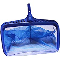 Bangxiu Pool Skimmer Swimming Pool Pond Flat Net Leaf Skimmer Heavy Duty Leaf Skimmer Durable Ligero para Limpieza Piscina Hojas y Escombros