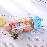 HKDBZ Portable Cartoon Flash Star Borosilikatglas Wasserflasche Mit Seil Flasche Wasser Flüssiges Glas Geschenk