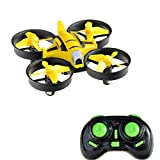 Kingtoys Mini Drone RC Quadcopter con Camera da 2MP HD, 2.4Ghz 4 Casnali...