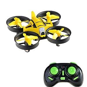 Kingtoys Mini Drone RC Quadcopter con Camera da 2MP HD, 2.4Ghz 4 Casnali giroscopio a 6 Assi Elicottero
