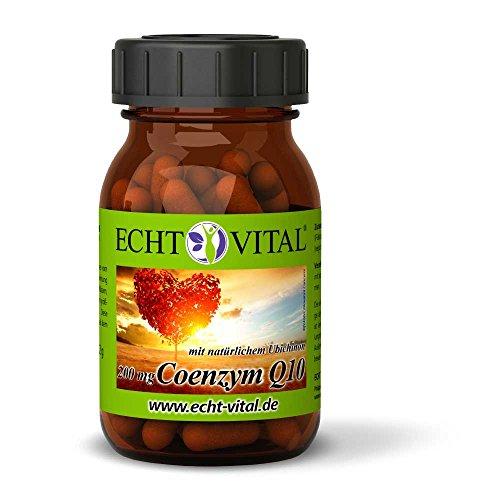 Echt Vital Coenzym Q10 - 1 Glas mit 60 Kapseln -