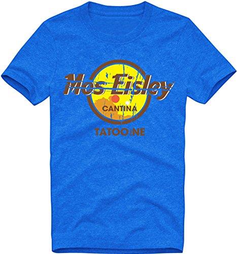 EZYshirt Mos Eisley Tatooine Herren Organic Rundhals T-Shirt