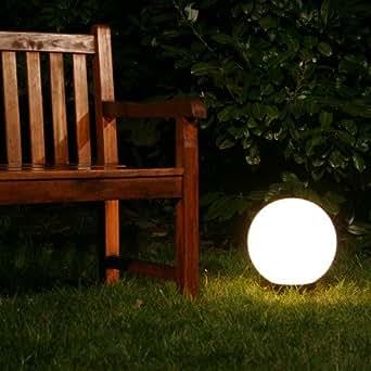 Boule lumineuse de jardin 30 cm luminaires for Boules lumineuses jardin