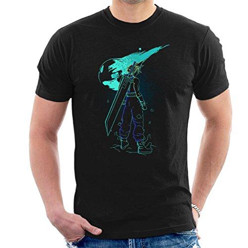 Cloud City 7 Shadow of The Meteor Final Fantasy VII Men's T-Shirt