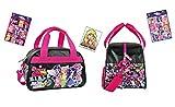 My little Pony - Equestria Girls - Reise-Tasche/Sporttasche / Kindergarten-Tasche (34 x 22 x 21 cm) + 16 Equestria Girls Sticker