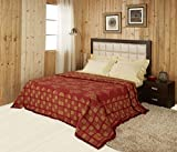 Raymond Home Woolen Double Blanket - Ora...