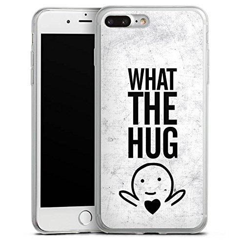 Apple iPhone 8 Slim Case Silikon Hülle Schutzhülle Liebe Herz Sprüche Silikon Slim Case transparent