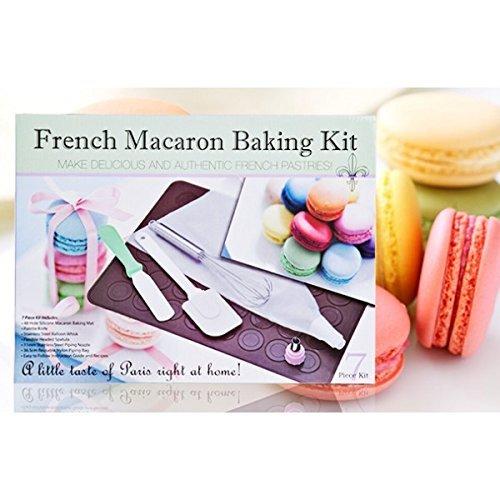 Kit de Moule à Macarons en Silicone, Multicolore