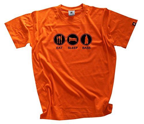 Shirtzshop–Maglietta da uomo arancione