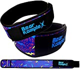 Bear KompleX 4' STRAIGHT Weightlifting belt for Powerlifting, Squats, Weight Training and more. Low...