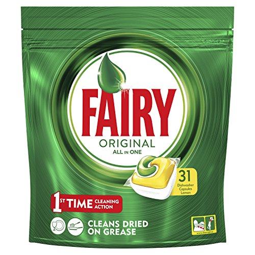 fairy spuelmaschinentabs Fairy Original Spülmaschinentabs, 31 Stück à 16,55 g, insgesamt 513g