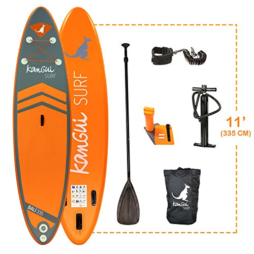 Kangui - Stand up Paddle 335cm Sup Gonflable + pagaie + Sac...