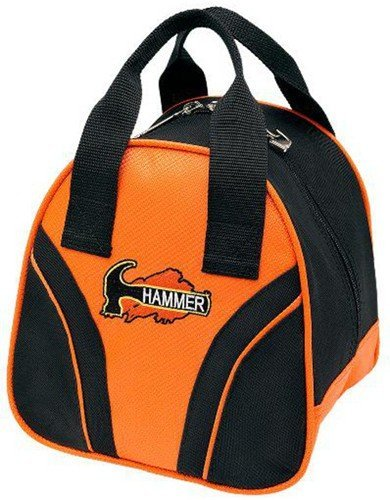 Hammer Plus 1 Bowling Bag, unisex, schwarz/orange (Bowling Bag Für Einen Ball)